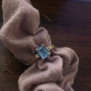 10k London blue topaz ring 😍✨💎